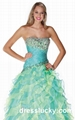 sherri hill prom dresses long blue cocktail dress 1