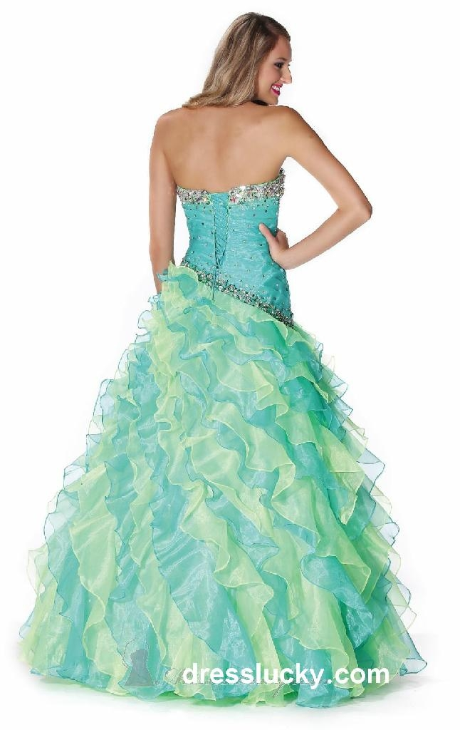 sherri hill prom dresses long blue cocktail dress 2