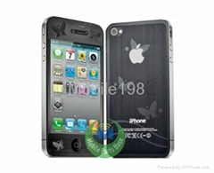 Anti-Fingerprint Screen Protector  flim for Apple iPhone 4 4S 3 3S 2