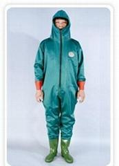 One-piece waterproof pants