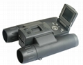 Digital Camera Binocular with 640 x 480 Pixels AVI Resolution