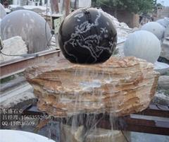 風水球花盆