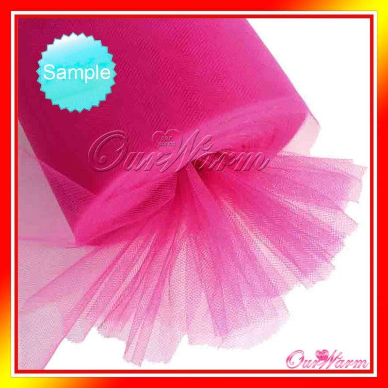 """Tulle Roll Spool 12""""x100YD Tutu DIY Skirt Fabric Wedding Banquet Craft 1"""