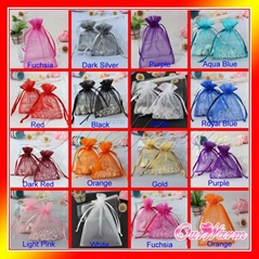 Strong Organza Pouch Wedding Favor Gift Candy Bag Hot