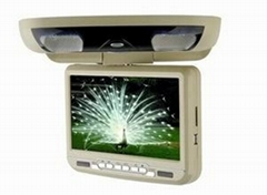 7 inch/9 inch roof mounted/flip down/headrest/sunvisor car dvd player