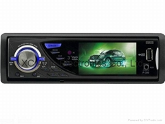 "1 Din car DVD player with 3"" color display"