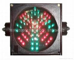 一燈組紅叉綠箭信號燈