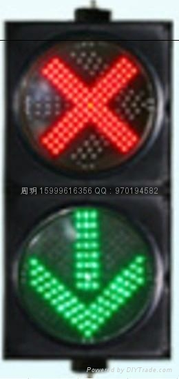 兩燈組紅叉綠箭信號燈 2