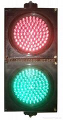 兩燈組紅綠滿屏機動信號燈