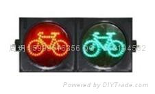 兩燈組非機動車道信號燈