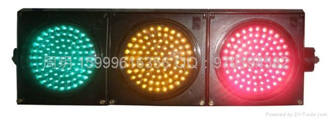 三燈組紅黃綠滿屏機動信號燈 1