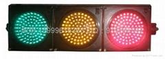 三燈組紅黃綠滿屏機動信號燈