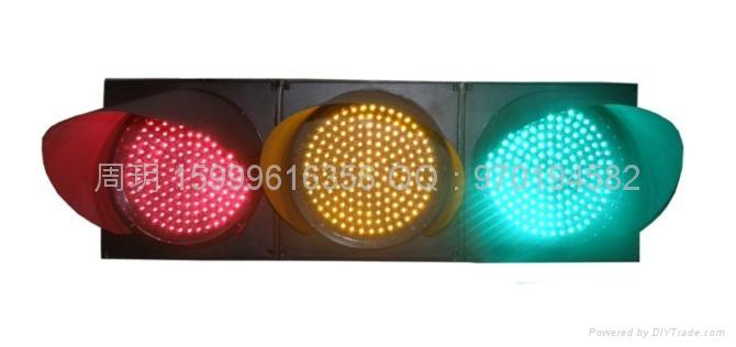 三燈組紅黃綠滿屏機動信號燈 2