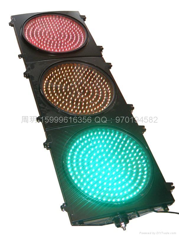 三燈組紅黃綠滿屏機動信號燈 4