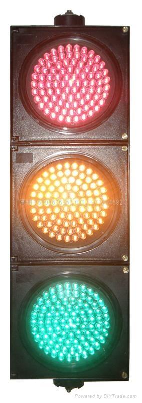 三燈組紅黃綠滿屏機動信號燈 5