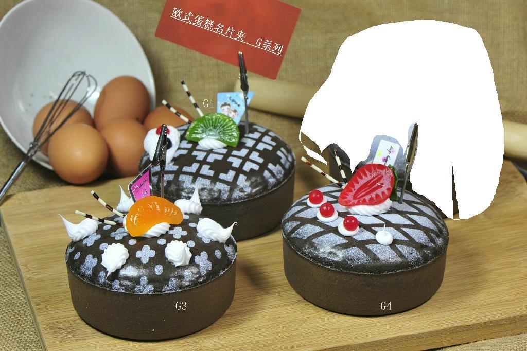 cake shape business card holder, pvc unique card holder ... Product Promotion Images