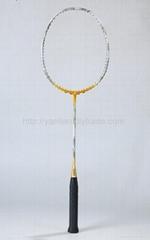 煒先全碳素羽毛球拍