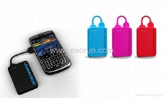 Fasionable display Power Bank for your mobile phone with Micro USB: Blackberry