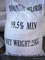 Ammonium chloride 99.5%v
