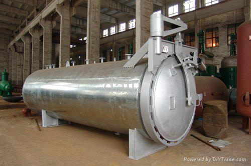 Finely Processed Industrial Autoclave For Vulcanization By5300