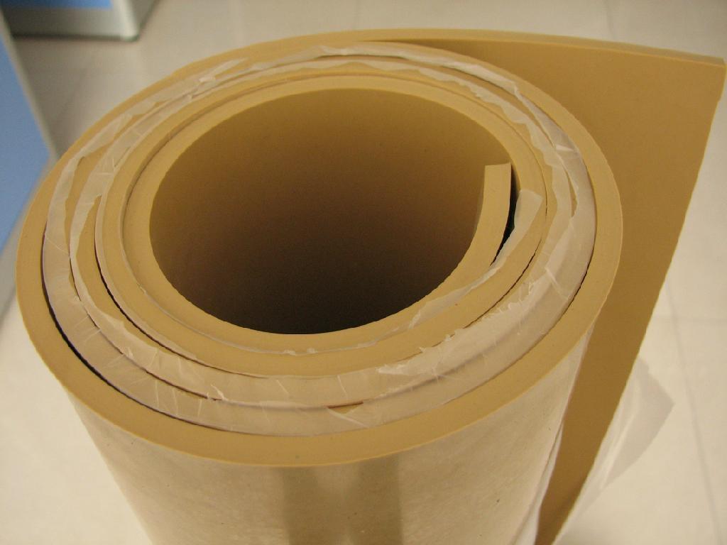 Natural Rubber Sheet 3a5001 China Rubber Materials