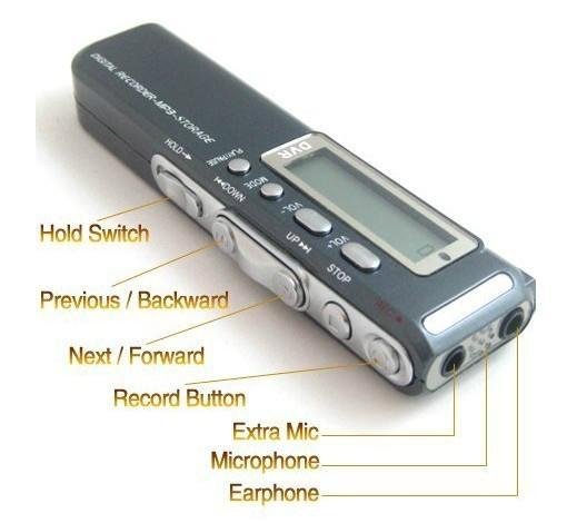 MP3錄音筆 3