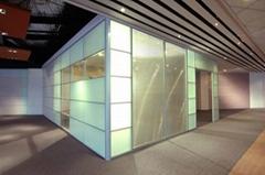 榕城玻璃隔断墙