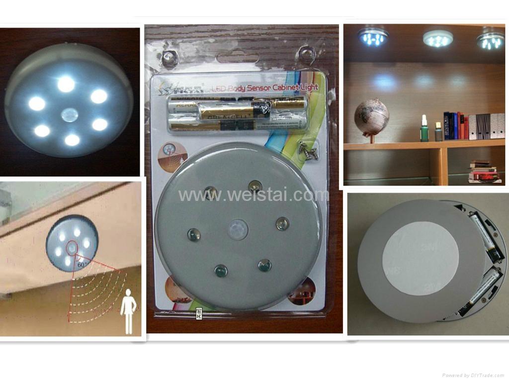 7.5V LED Cabinet light WST-1813-2 Chroming surface 2