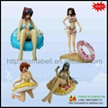 Swimming Girl Figurine