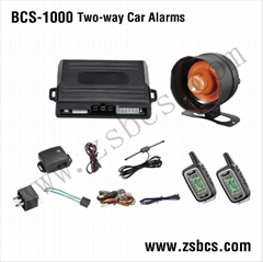 TWO-WAY CAR ALARMS