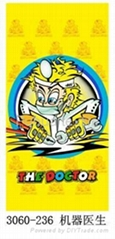 valentino rossi doctor beach towel