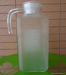 玻璃钻石凉水壶