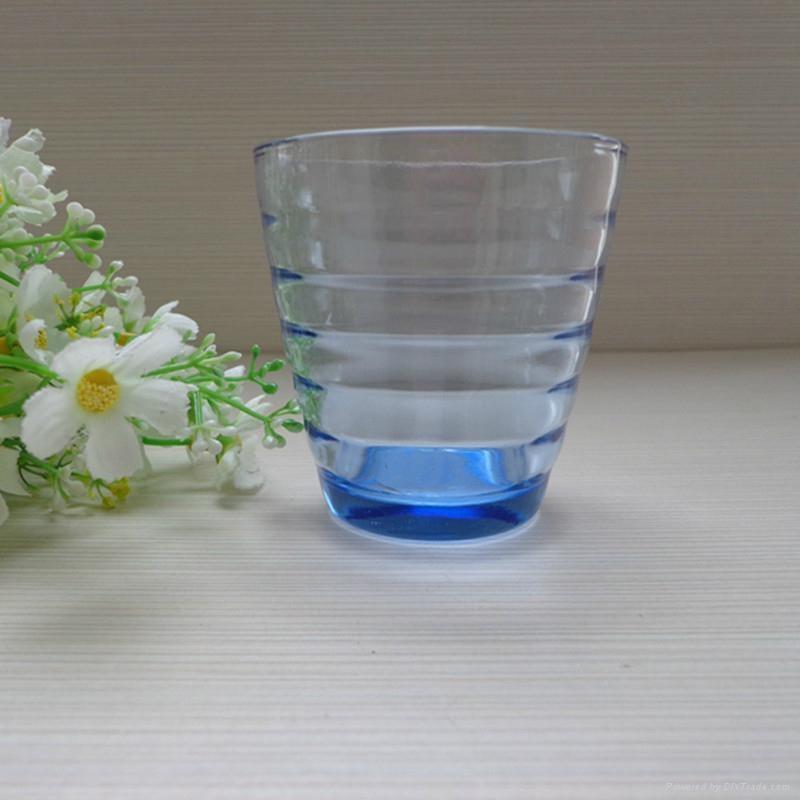进口时尚创意蓝色啤酒杯 1