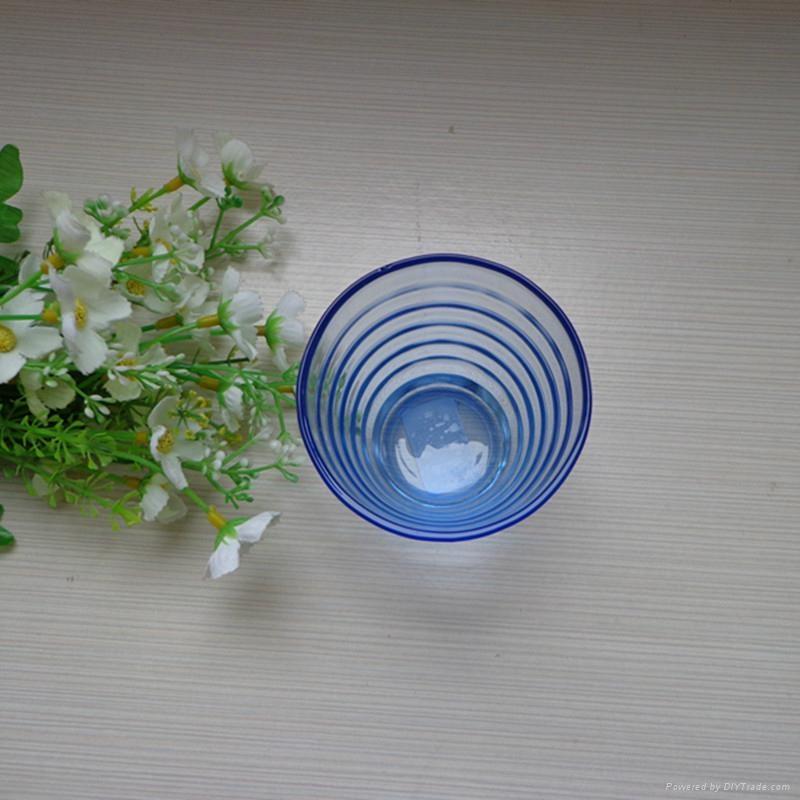 进口时尚创意蓝色啤酒杯 2