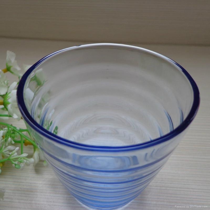 进口时尚创意蓝色啤酒杯 3