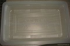 Plastic container for Puffed food