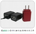 5W AC/DC Adapters with USB Socket