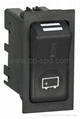 24v  Hazard rocker switch with on-off position 3