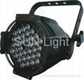 1W/3W* 54 RGBW LED PAR Light/Stage Light