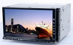 7'' slip panel car dvd player