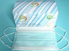 Nonwoven 3 Ply PP Face Mask  full face mask