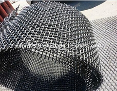 Stainless Steel Crimped Wire Mesh/ 65Mn Crimped Wire Mesh/ Heavy Duty