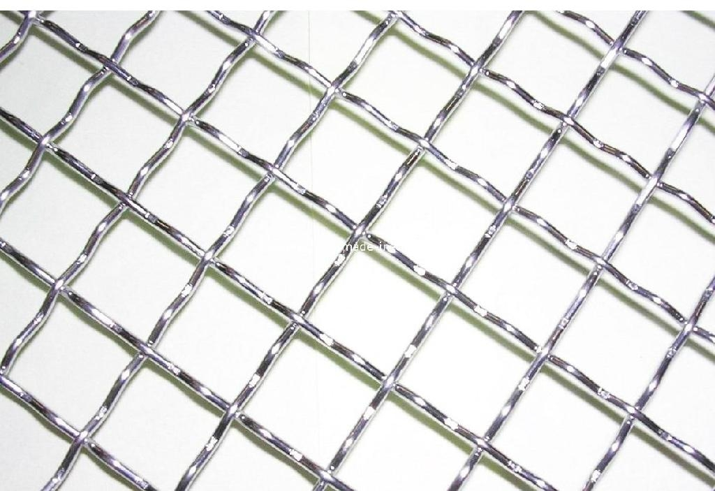 Stainless Steel Crimped Wire Mesh/ 65Mn Crimped Wire Mesh/ Heavy ...