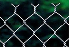 Diamond Wire Mesh/ Ga  anized Diamond Wire Mesh/ PVC Coated Chain Link Fence