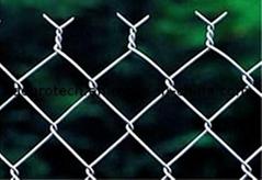 Diamond Wire Mesh/ Galvanized Diamond Wire Mesh/ PVC Coated Chain Link Fence