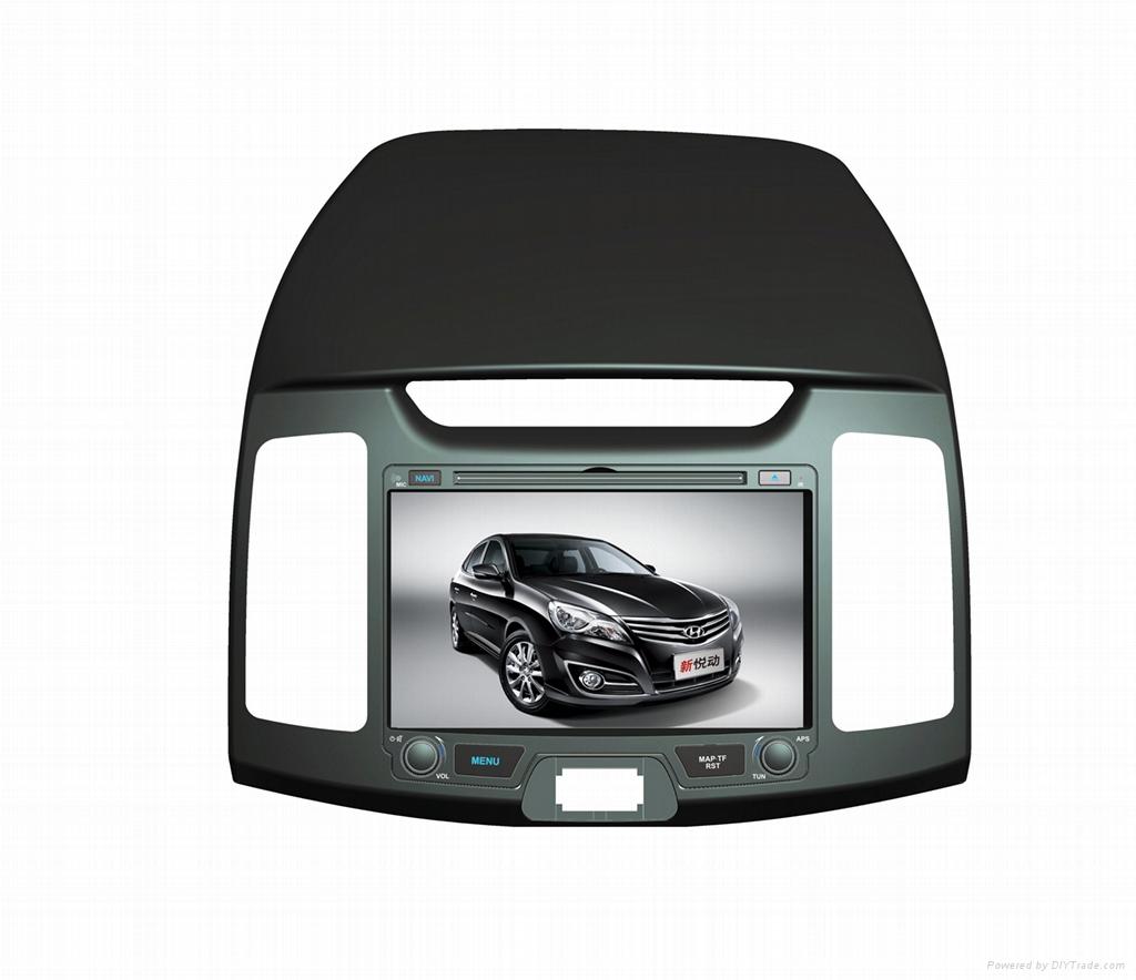 Hyundai SANTAFE 7'' Car DVD With GPS navigation system  1