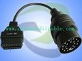 Auto Diagnostic Equipment: OBD II Auto Com Main Cables 3