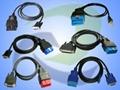 OBD2 Diagnostic Cables (automobible