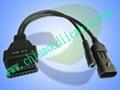 OBDII AUTO COM Main Cables for FIAT