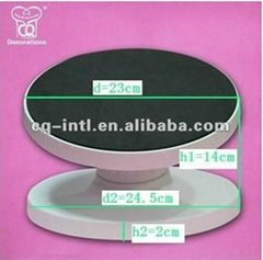 Plastic cake turntable-- New--Creative--Good quality, reasonable price, Easy to